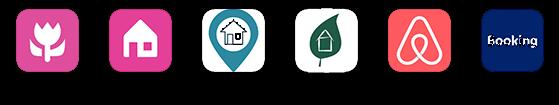 U vindt ons op: bedandbreakfast.nl/eu   huisjes.net   bnb.direct   natuurhuisje.nl   airbnb   booking